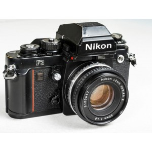 Nikon F3 35mm Camera with 50mm f/1.8 Lens