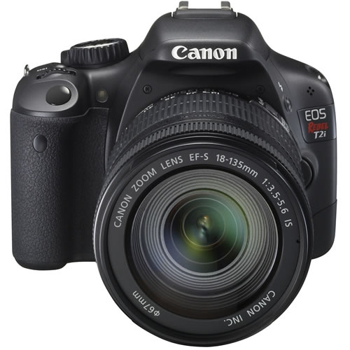 Canon  EOS Rebel T2i w/ EF-S 18-55mm IS Lens